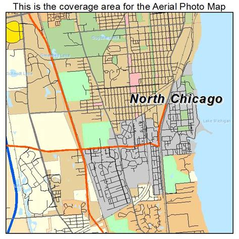 chicago map illinois aerial photography map of chicago il illinois