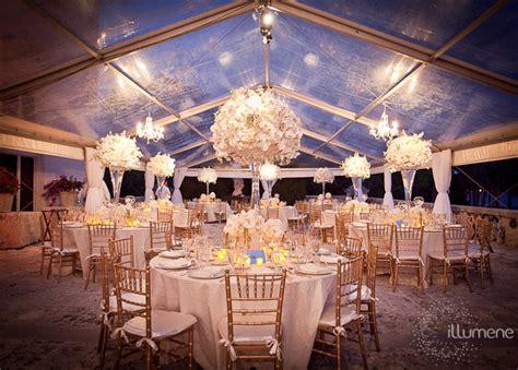 Outdoor Tent Lighting Vizcaya Wedding Lighting Illumene