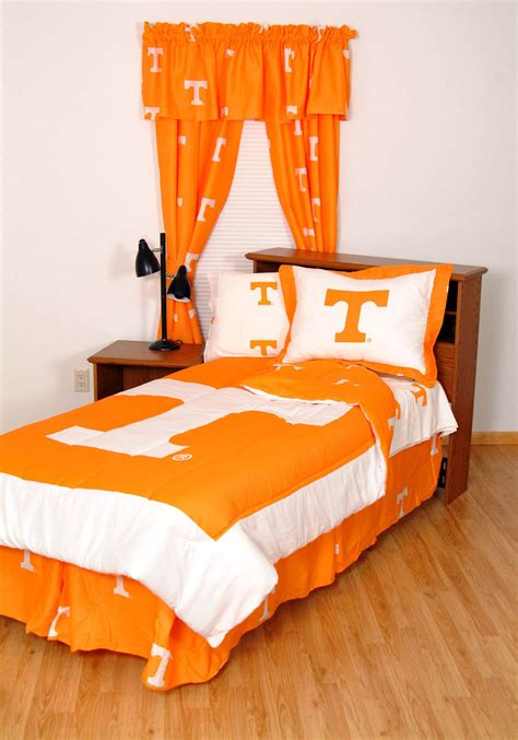 tennessee comforter set tennessee volunteers comforter set twin x long