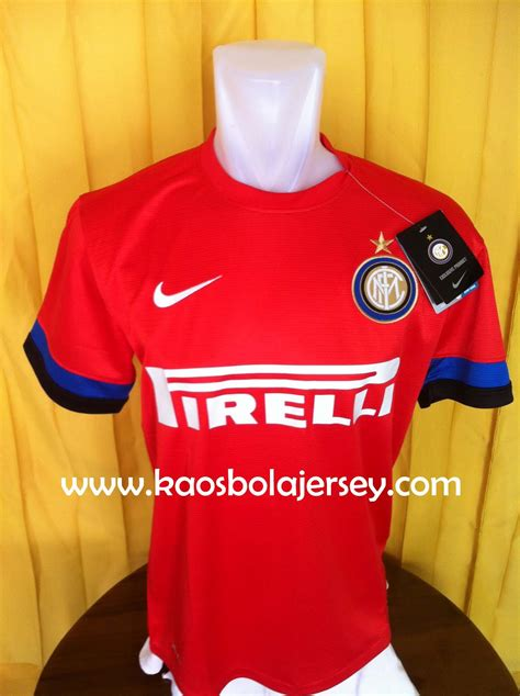 Kaos Inter Milan Signature 2 kaos bola inter milan away merah 2012 2013