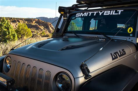 jeep vented jeep wrangler jk stingray vented smittybilt sb76400