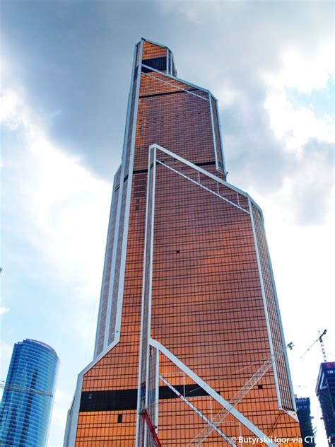 mercury city tower  skyscraper center