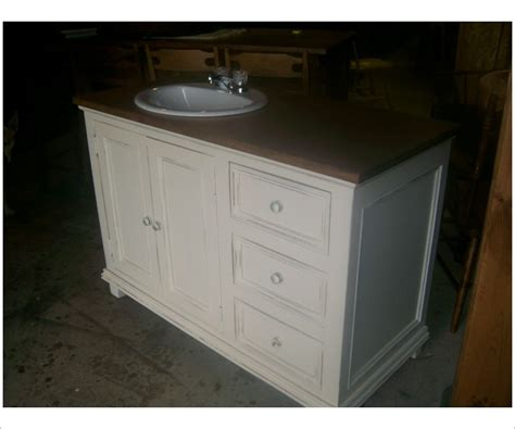 Unfinished Pine Bathroom Vanity by Bathroom Vanity In Solid Pine