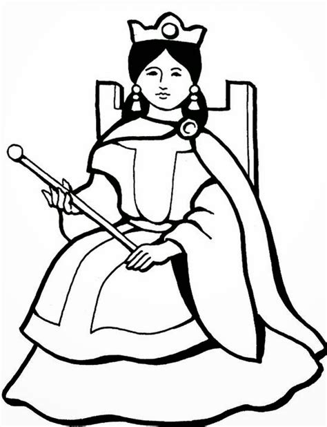 queen coloring pages printable queen diamond coloring pages