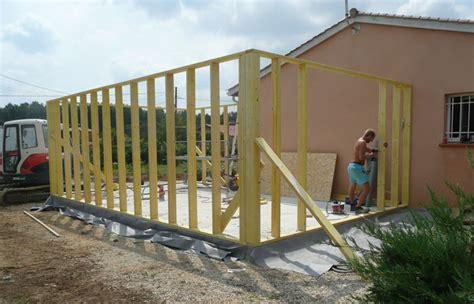 Prix M2 Mur Ossature Bois by Prix D Une Extension En Ossature Bois 2018 Travaux