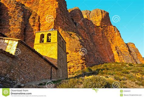 Green Fields Escalation rural church stock photo cartoondealer 78828342