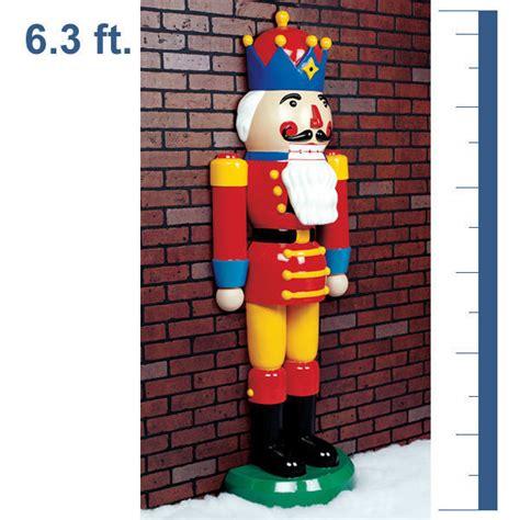 barcana hlfnutcrk72 75 in life size half nutcracker