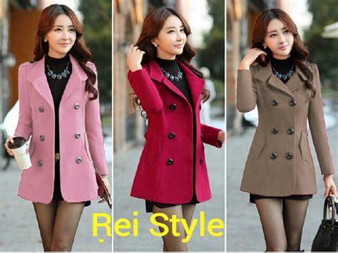 Mochi Mocca Blazer Coat Korea model blazer wanita terbaru coat ala korea cantik unik