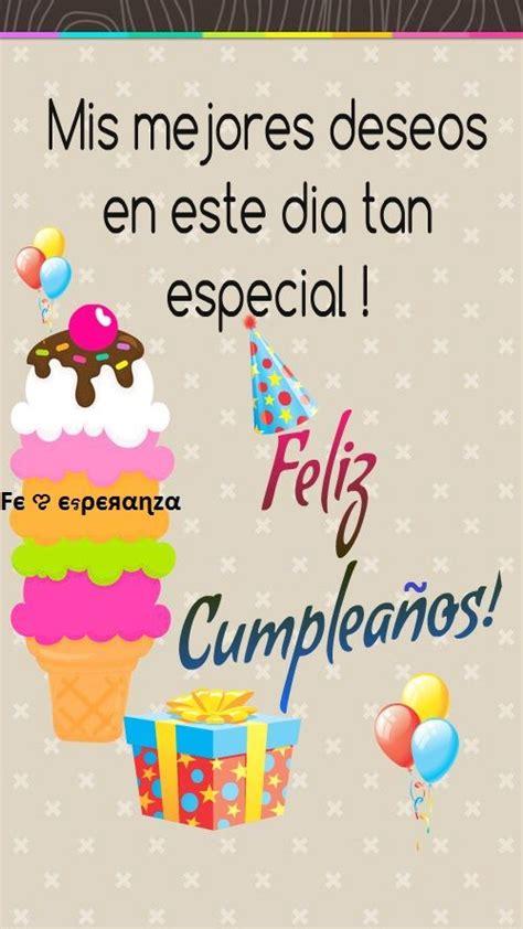 imagenes happy birthday prima felicidades tarjetas de felicitacion pinterest