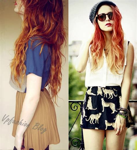 blonde and red hair weave pictures red ombre hair archives vpfashion vpfashion