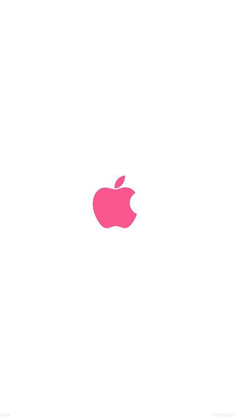 wallpaper apple pink va15 apple simple logo color red minimal