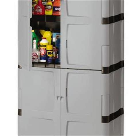 rubbermaid full double door cabinet rubbermaid fg708300michr full double door cabinet