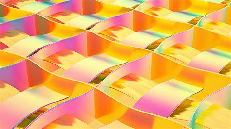 vm art paper yellow rainbow color pattern papersco