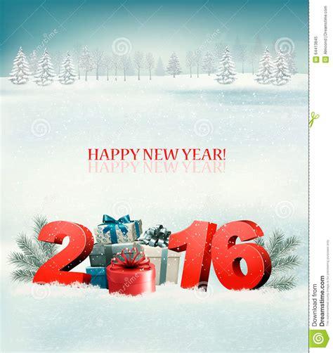 happy new year 2016 template happy new year 2016 new year design template stock vector