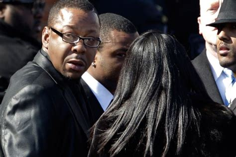 Bobby Brown Pays Up by A Studded Funeral Pay Last Respects To