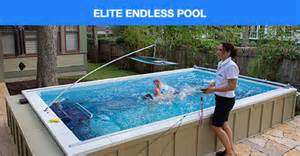 Backyard Ideas With Pools - endless pools indoor outdoor pools adjustable swim current