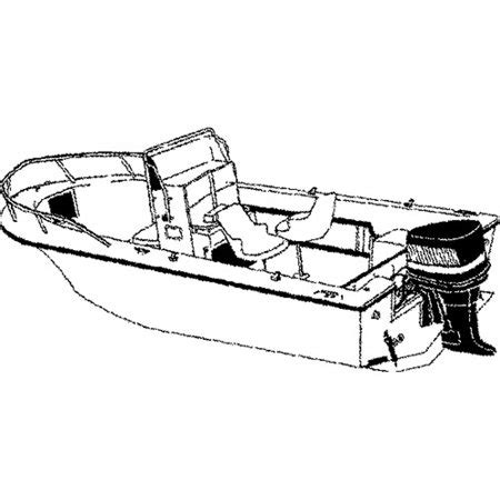 18 foot center console boat cover carver styled to fit cover for v hull center console