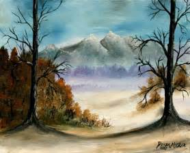 landscape canvas prints winter landscape painting