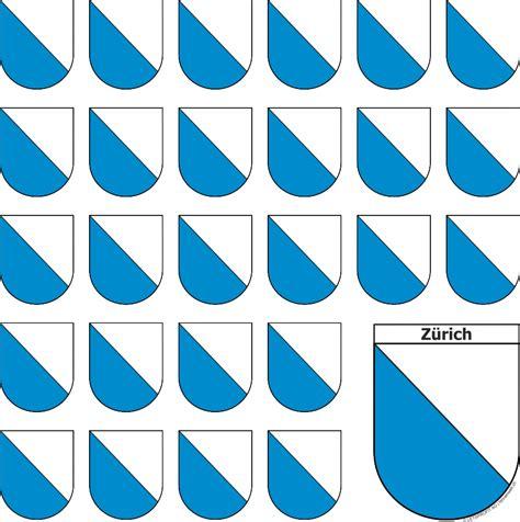 Aufkleber Drucken Z Rich by Bogen Mit Z 252 Rich Sticker In Wappenform 1 Grosser Und 26