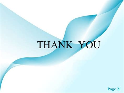 Thank You Page For Ppt Images Powerpoint Presentation Gallery