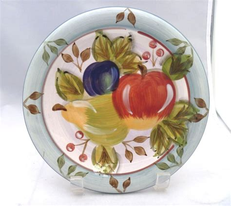 Decorative Salad Plates by Black Forest Fruits Dinnerware 8 Salad Plate Replacement