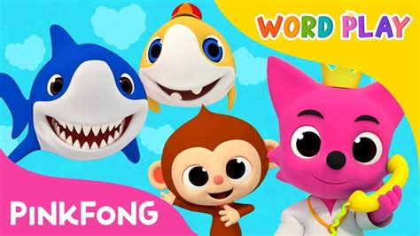 baby shark word play baby shark and 18 more songs compilation word play