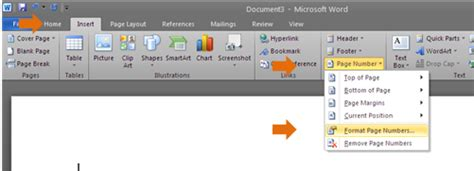 cara membuat halaman berbeda di word 2010 untuk skripsi cara memberikan jenis penomoran berbeda pada microsoft
