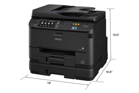 Printer All In One Epson Pro Workforce Wp 4590 epson workforce pro wf 4640 all in one printer inkjet printers for work epson canada