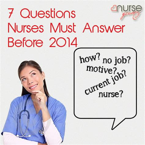 7 questions nurses must answer before 2014 germz