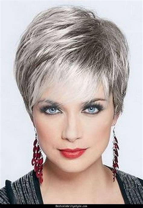 extremely short hair cuts for women with gray hair over 50 years old short hairdos 2016