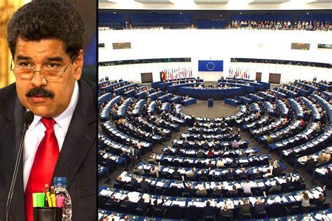 lo in parlamento lo que dijo el parlamento europeo a maduro taringa