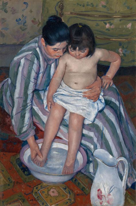 child s the child s bath the art institute of chicago