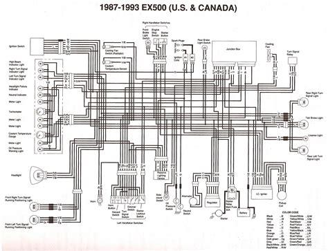 motor ex500a diagram wiring for kawasaki 650r