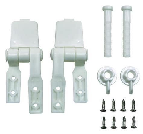 toilet seat top mount plumb works white finish top mount toilet seat hinge at