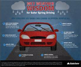 Driving In Wet Conditions - spring driving 8 ways to stay wet weather wise