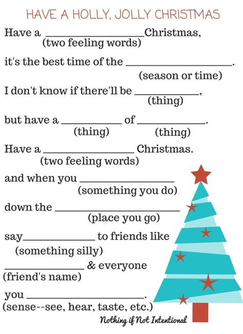 printable christmas stories free christmas printables activity placemat fill in the