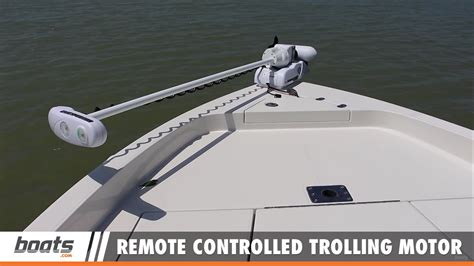 remote trolling motor a remote controlled trolling motor in