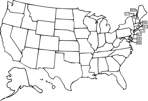united states outline coloring page maps united states map outline