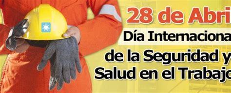 mes de la seguridad tema 2016 programa de seguridad y salud en el trabajo
