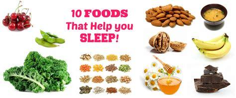 8 Snacks That Help You Sleep Better by 10 Foods That Help You Sleep