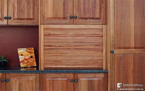 solid timber tambour kitchen doors tambortech