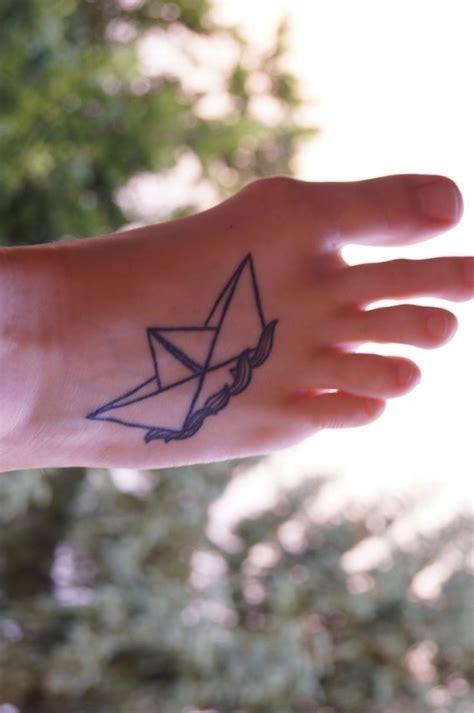 tattoo paper boat paper boat tattoo tattoomagz