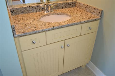 beadboard vanity beadboard vanity in guest bath suite andrea ii