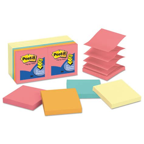 Paper Ink Stick Label Post Its Memo Tempel Kecil post it pop up notes original pop up notes value pack 3 x 3 canary yellow cape town 100 sheet