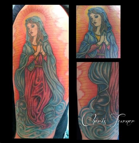 virgin mary tattoo on neck 78 images about virgin mary tattoos on pinterest chris