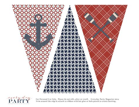 printable nautical images free nautical party printables everyday party magazine