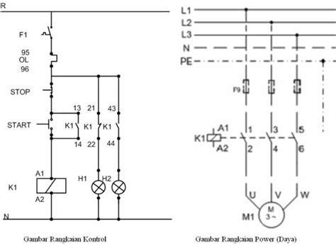 contoh rangkaian listrik pmm masarifbudi