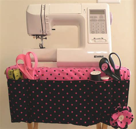 sewing machine apron sewing caddy free sewing tutorial love to sew