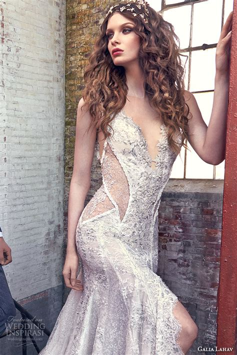 Wedding Hair For V Neck Dress by Galia Lahav Bridal 2016 Wedding Dresses Les R 234 Ves