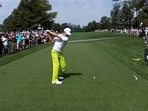 slow motion golf swing from behind guan tianlang 14 2012 asia pacific amateur chionship